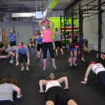 Andrea-highest burpee jumps
